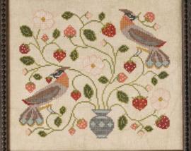 The Blue Flower - Strawberry Bird
