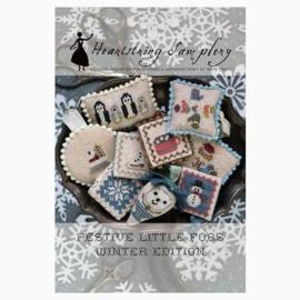 Heartstring Samplery - Festive Little Fobs Winter edition