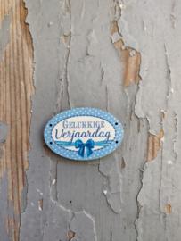 Atelier Bonheur du Jour - Gelukkige Verjaardag (blauw)
