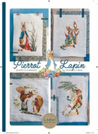 Mook - Pierrot Lapin ... 20 motifs à broder au point de croix (tôme 2)