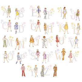 """Les Brodeuses Parisiennes - Le grand ABC """"Seventies"""""""