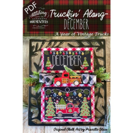 Stitching with the Housewives - Truckin' Along - December