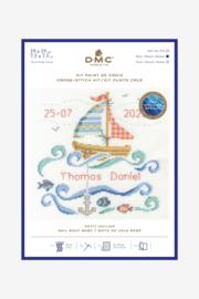 DMC - BK1877 - Sail Boat Baby