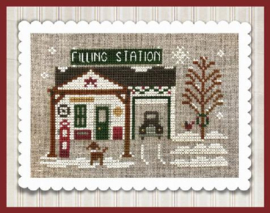 "Little House Needleworks - Hometown Holiday ""Pop's Filing Station"" (nr. 20)"