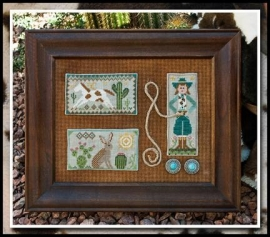 Tumbleweeds (a division of Little House Needleworks) - Cowgirl Country