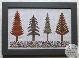 AnnaLee Waite Designs - Autumn Trees