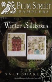 Plum Street Samplers - Winter Saltboxes
