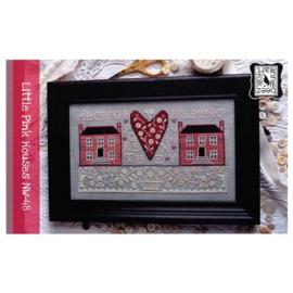 Annie Beez Folk Art - Little Pink House