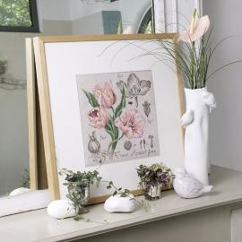 Les Brodeuses Parisiennes - Etude à la Tulipe (lin)