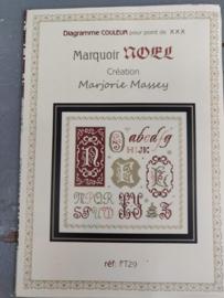 Marjorie Massey - Marquoir Noël