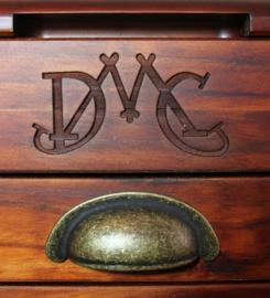 DMC - Boite en bois