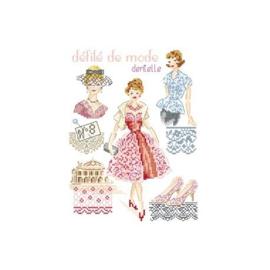 """Les Brodeuses Parisiennes - Défilé de mode nr. 8 """"Dentelles"""""""