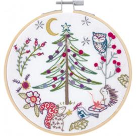 Un chat dans l'aiguille - Noël en Fôret (ref. 215202009002) - Kerst in het bos