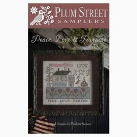 Plum Street Samplers - Peace, Love & Purpose