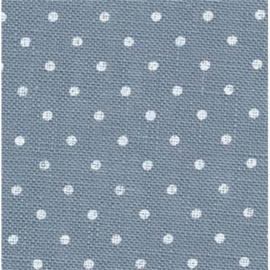 Zweigart - Belfast (12.6 dr/cm - 32 ct) - kleur 5269 - Petit Point (blauw)