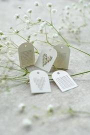 Mini étiquettes - carton (Christiane Dahlbeck)