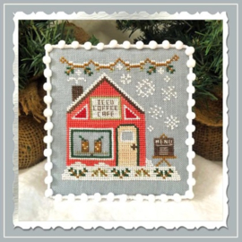 Country Cottage Needleworks - Iced Coffee Cafe (Snow Village nr. 10)