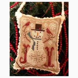 Homespun Elegance - Snow Joyful (Snowman Ornament)