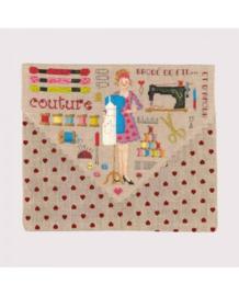 Le Bonheur des Dames - réf. 9061 - Pochette Couture