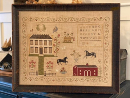 Stacy Nash Primitives - The Stables at Hollyberry Farm Sampler