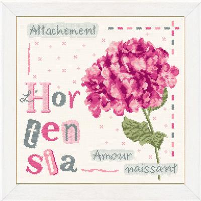 Lili Points - J008 Hortensia (nieuwe kleurenversie)