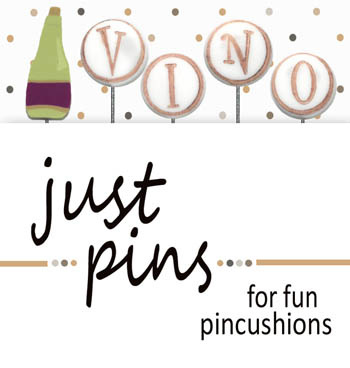 Just another Button- Block Party - Vino