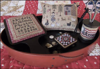 The Scarlett House - American Homestead Sewing Set