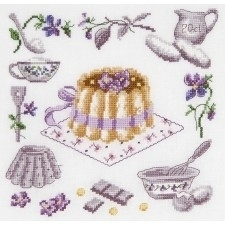 BK 1044 - The Big Purple Cake - La charlotte à la violette
