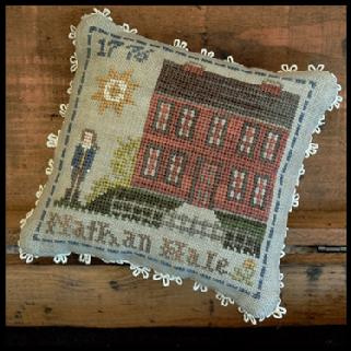 "Little House Needleworks -""Early Americans"" - nr. 4 Nathan Hale"