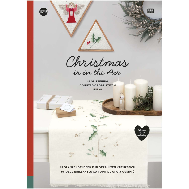 """Rico Design - Livre nr. 172 - """"Christmas is in the air"""""""