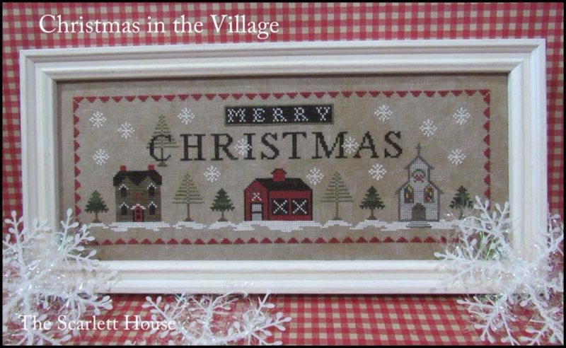 The Scarlett House - Christmas in the village