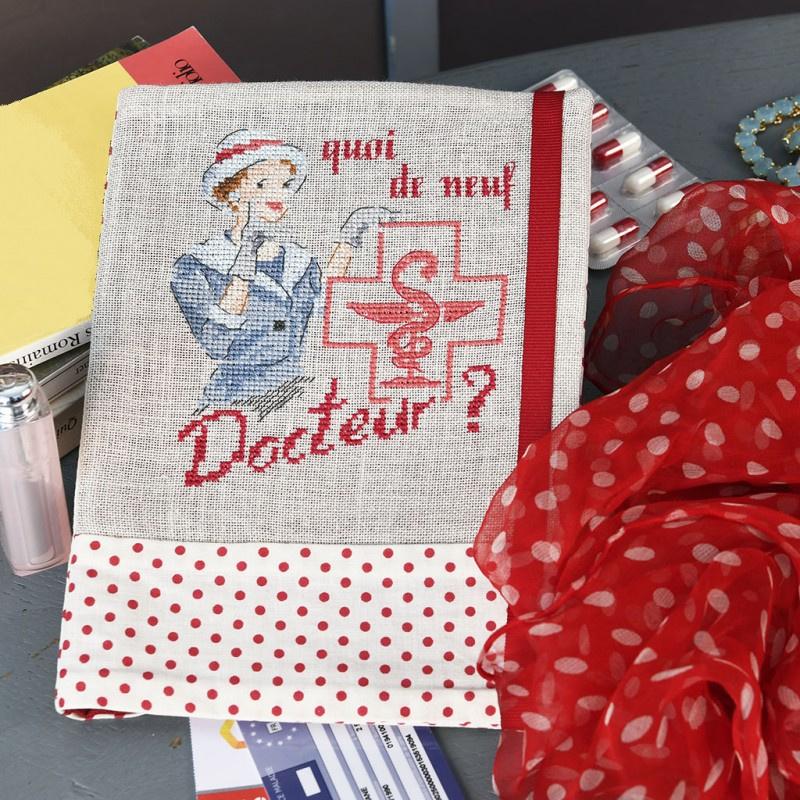 Les Brodeuses Parisiennes - Quoi de neuf, Docteur ??? (linnen)