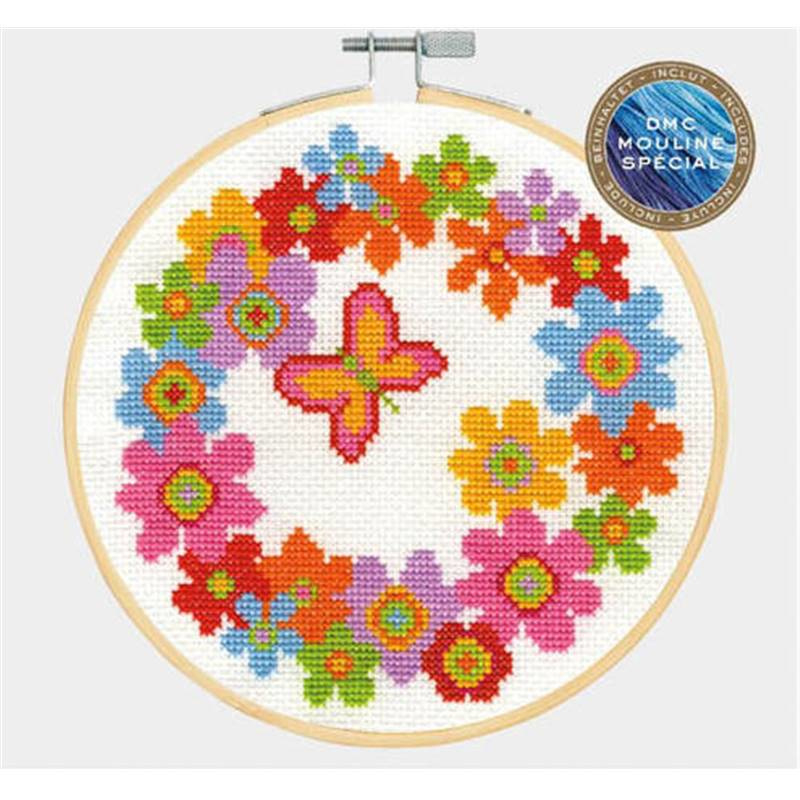 DMC - BK1850 - Floral Wreath