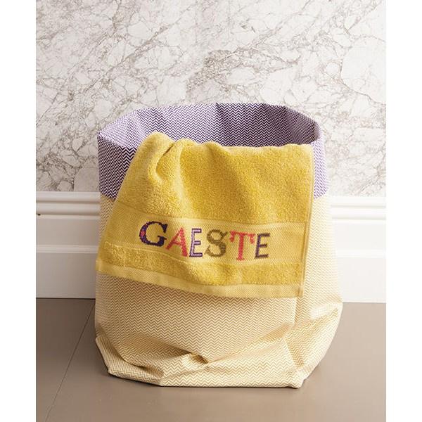 Rico Design - Serviette invité (moutarde clair) - ref. 740256.61