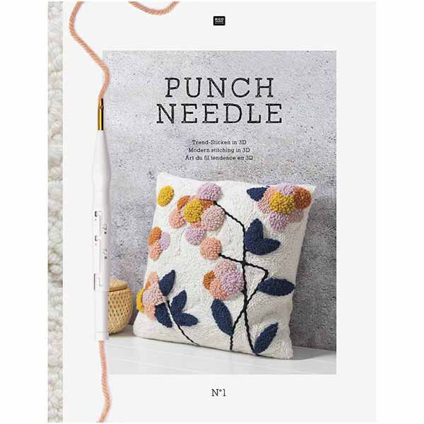 Rico Design - Punch Needle (nr. 1 Modern stitching in 3D)