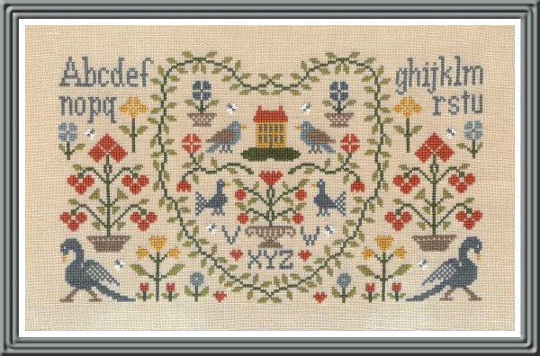 Jardin Privé - New Antique Sampler