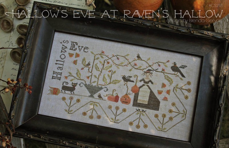 With thy needle and thread - Hallows Eve at Raven's Hallow (Brenda Gervais)