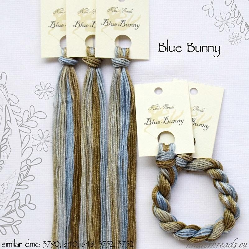 Nina's Threads - Blue Bunny