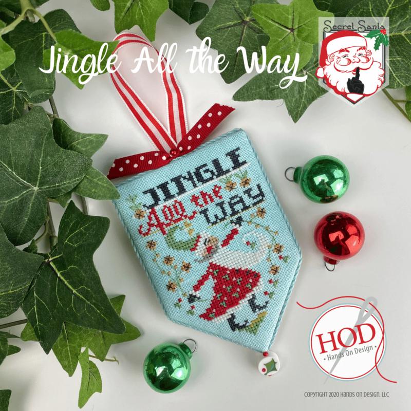 Hands on Design - Jingle all the Way (Secret Santa nr. 8)