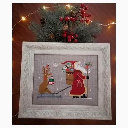 Twinpeak Primitives - Rudolph and Santa