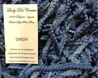 """Lady Dot Creates - Pom Poms - kleur """"Union"""""""