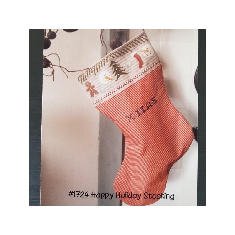 Thistles - Happy Holiday Stocking