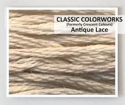 Classic Colorworks - Antique Lace
