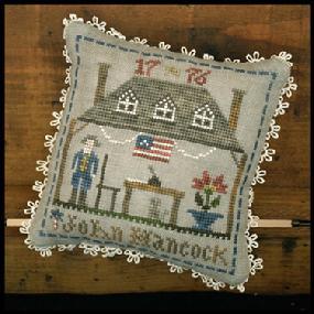 "Little House Needleworks -""Early Americans"" - nr. 2 John Hancock"