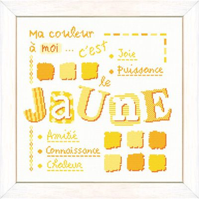 Lili Points - X006  - Le Jaune