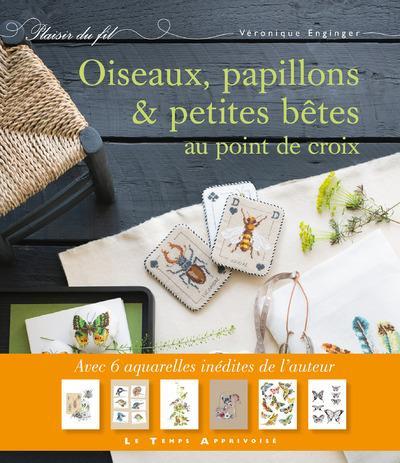 Boek - Oiseaux, papillons et petites bêtes (Véronique Enginger) - Vogels, vlinders en kleine beestjes