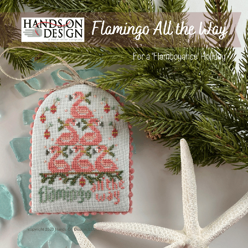 Hands on Designs - Flamingo All the Way