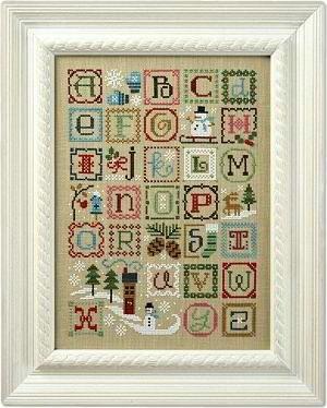 Lizzie Kate - Winter alphabet