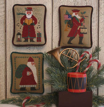 The Prairie Schooler - Santas revisited VII (1985, 2002, 2014))