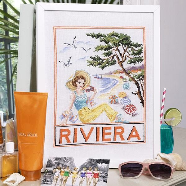 "Les Brodeuses Parisiennes - ""Riviera"" (aïda)"